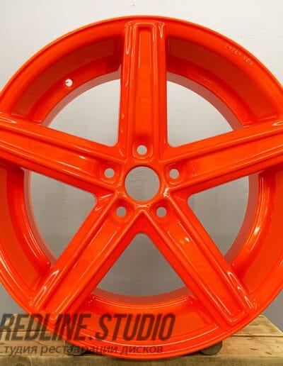 Оранжевый люминесцентный