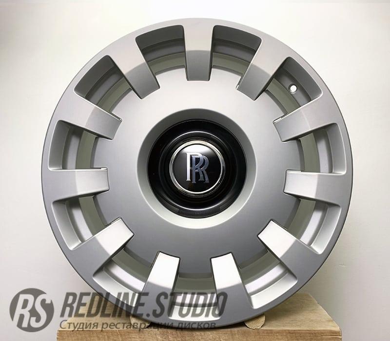 Серебро матовое (Rolls Royce Phantom)