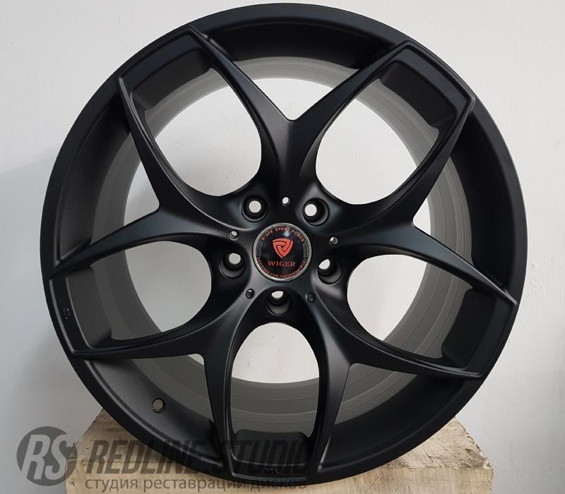 Черный матовый (BMW X6)
